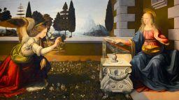 Благовещение в картините на великите майстори на четката