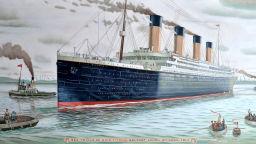 """Литературната мистерия около потъването на """"Титаник"""""""