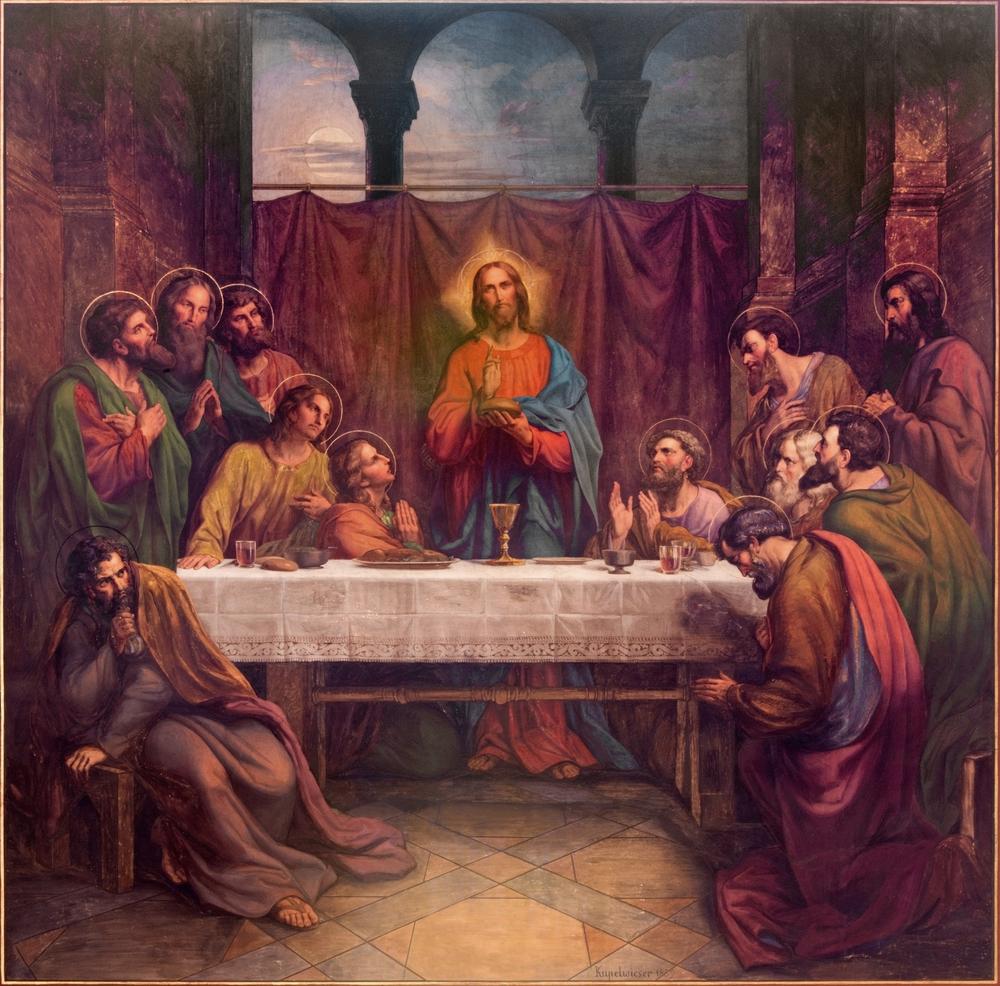 Какво е било менюто на Тайната вечеря