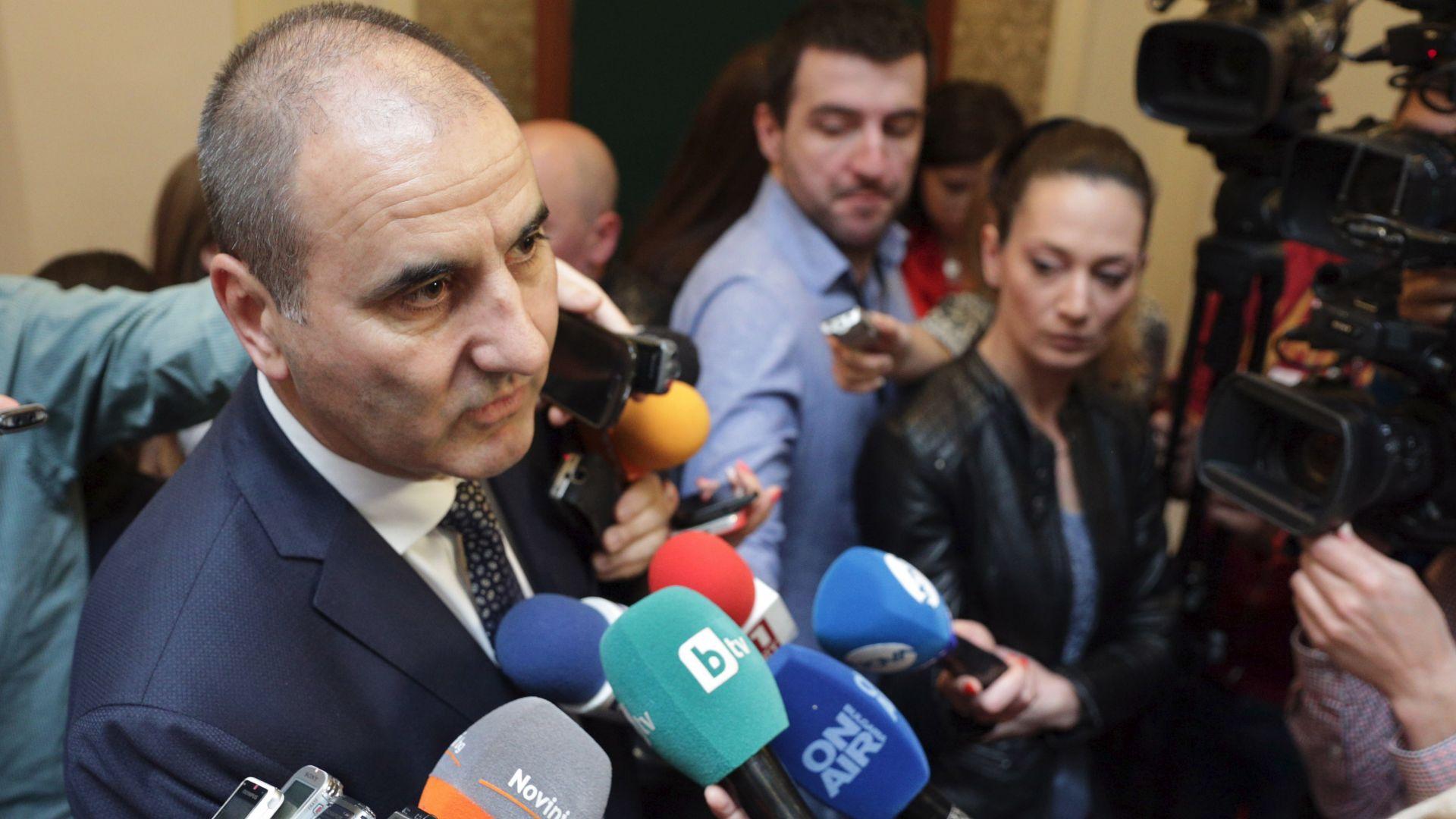Цветанов: Решението за руските дипломати може да се промени