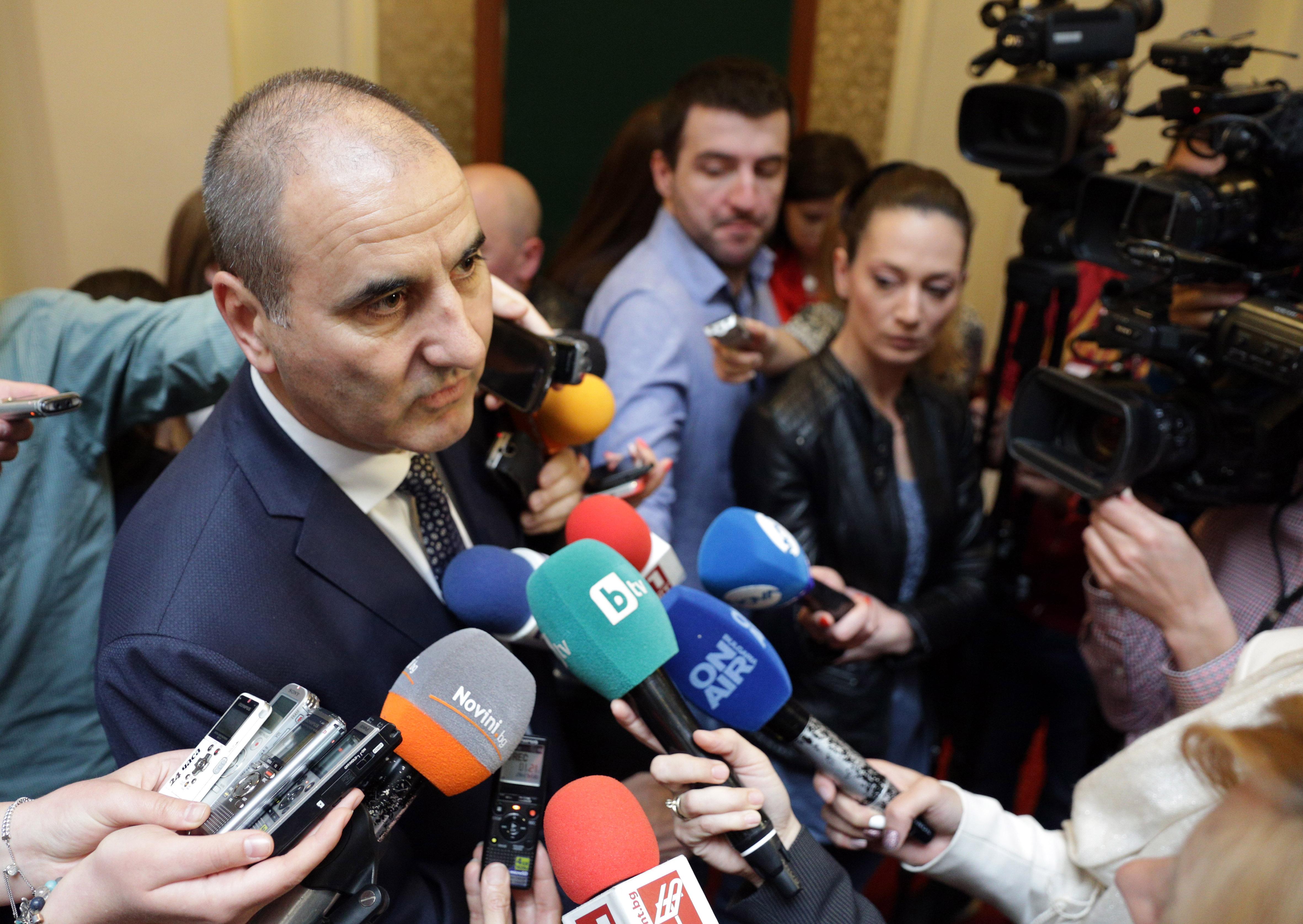 Цветанов: Най-хубаво е да си президент, само намираш кусури