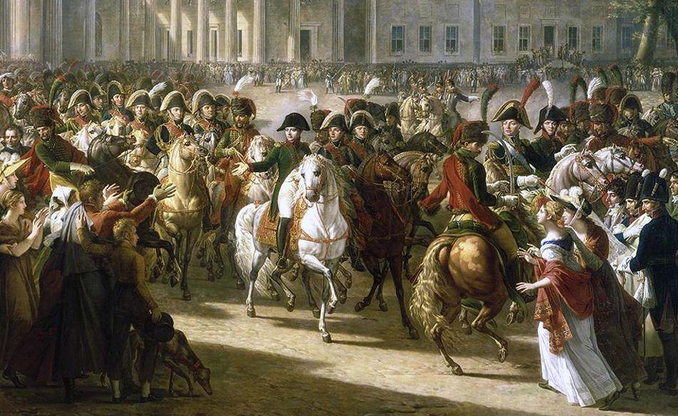 Резултат с изображение за Наполеон Бонапарт влиза  в Берлин