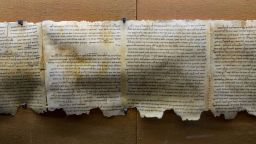 Част от легендарните Кумрански ръкописи били откраднати от иманяри