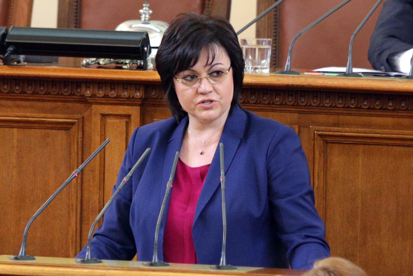 Нинова отказала на Борисов Златева да влезе в кабинета му