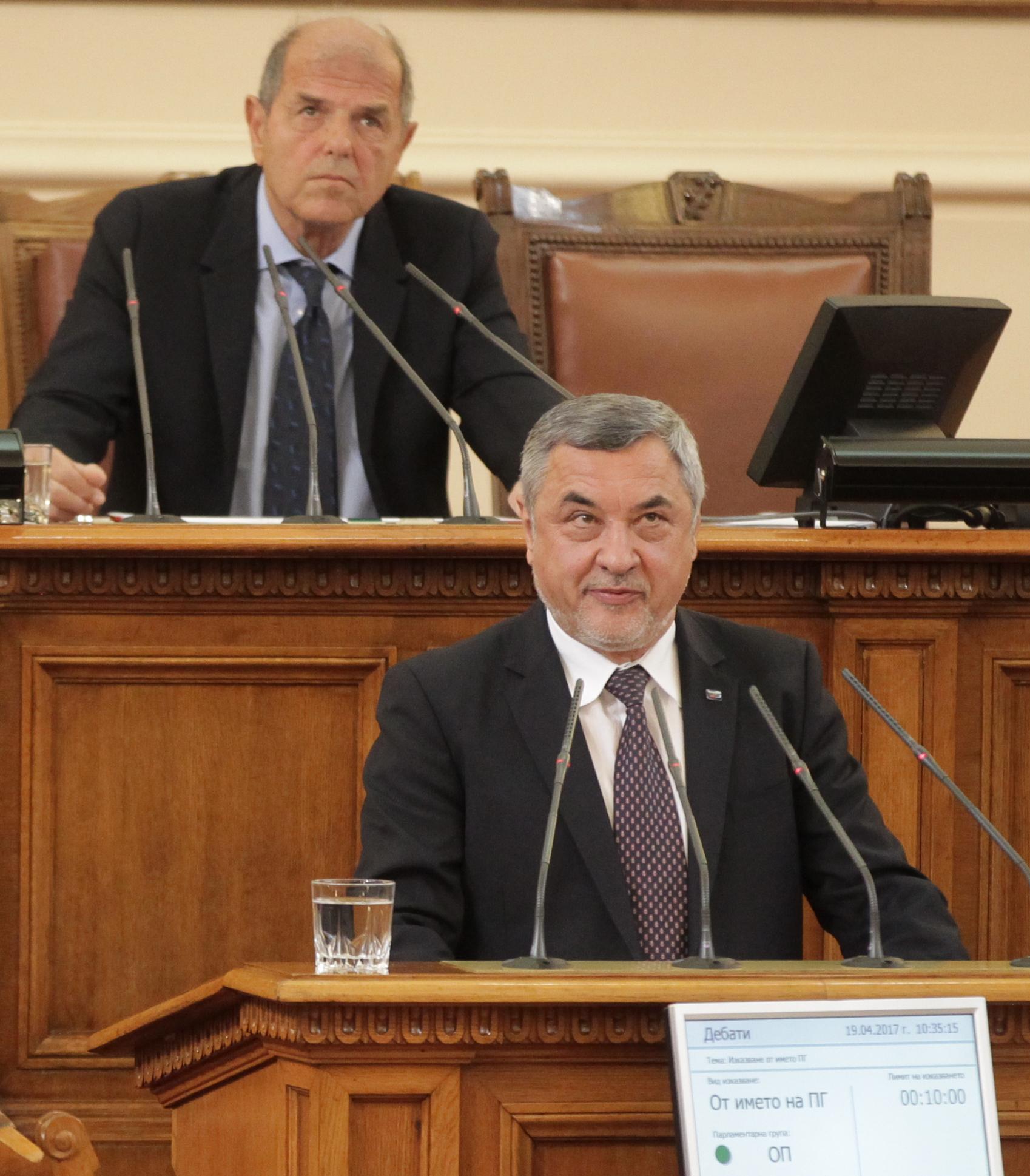 Симеонов: Ще съдя Слави Трифонов и ще му окача скалпа