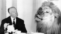 """Алфред Хичкок обядвал с Лео от заставката на """"Метро Голдуин Майер"""""""