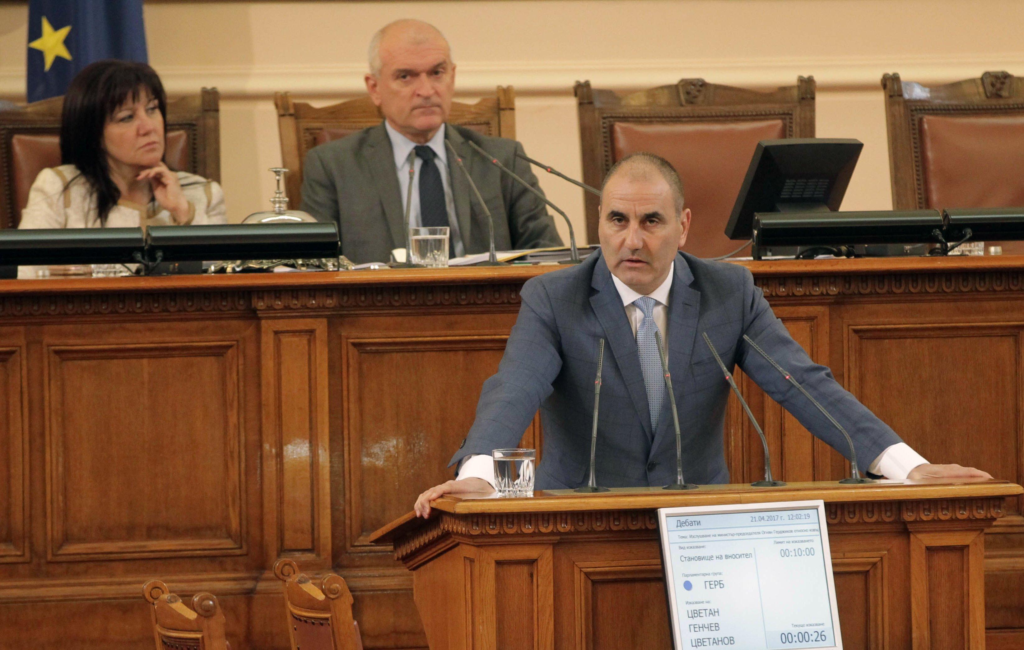 Цветанов: Уволненията са саботаж срещу новото правителство