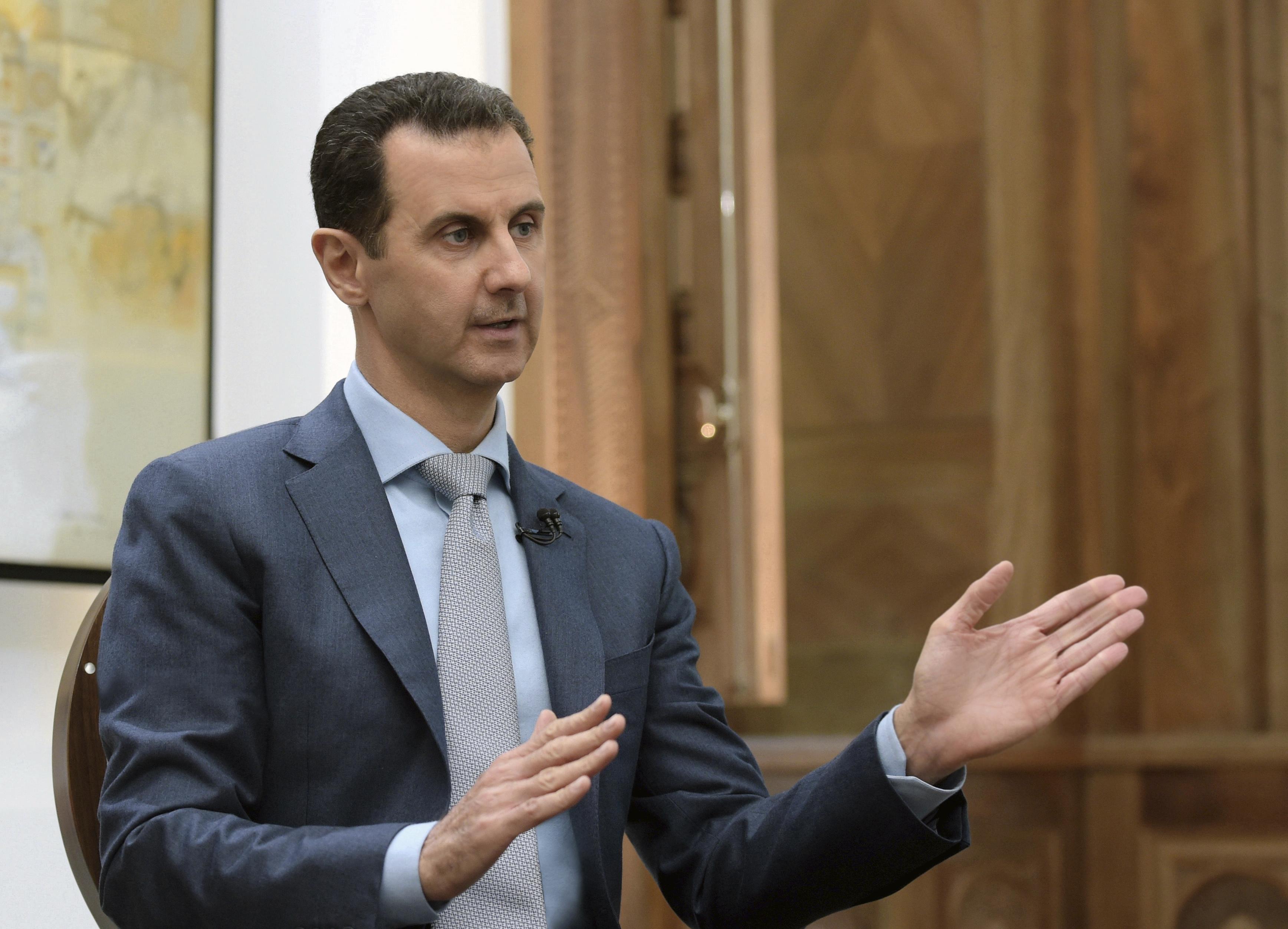 Асад: Над 50% от противовъздушната ни отбрана е унищожена