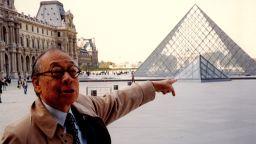 Архитектът създал пирамидата на Лувъра, навършва 100 години