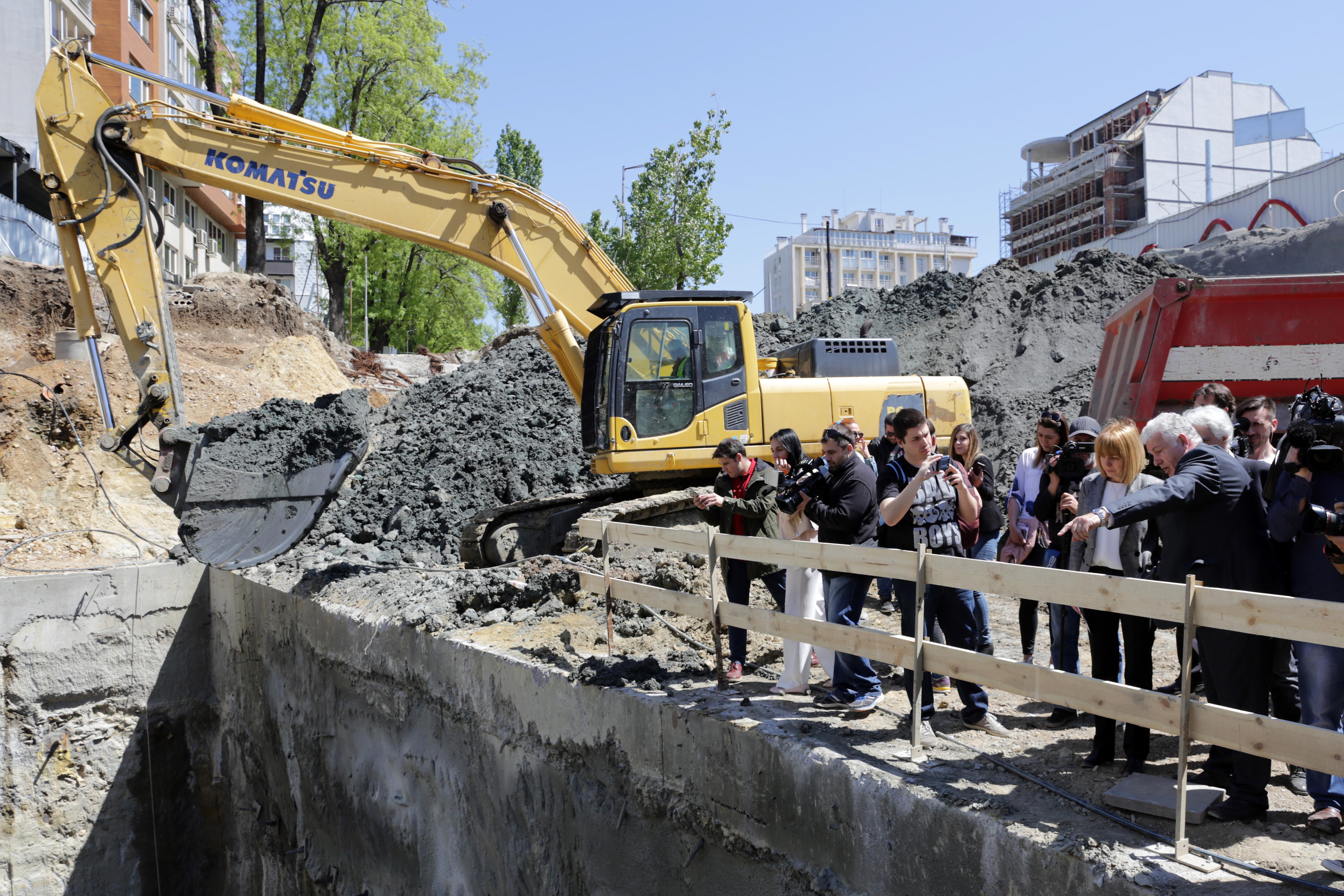 Нови промени в трафика заради строежа на метрото