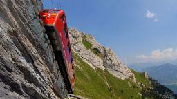 Пилатусбан - най-стръмната железница в света