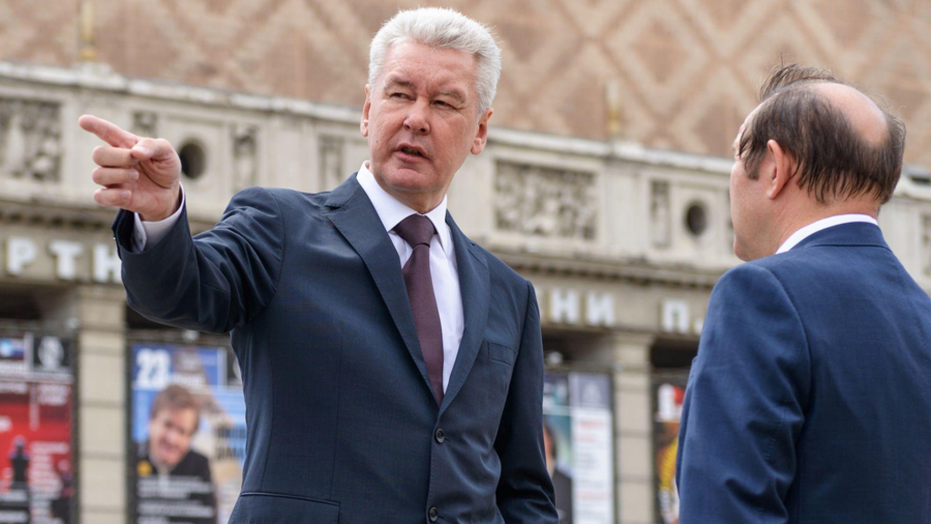 Собянин отново ще е кмет на Москва