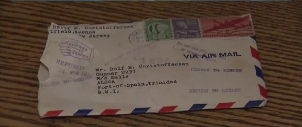 Ветеран от ВСВ получи любовно писмо 72 години по-късно
