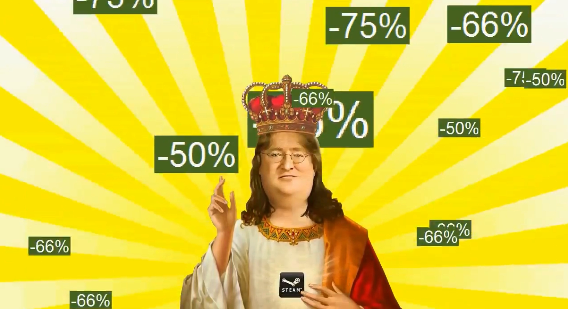 Скоро игрите в Steam са с -50% от цената