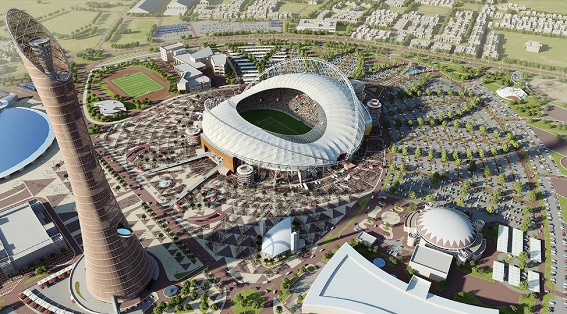 Откриха първия стадион за Мондиал 2022 (снимки)