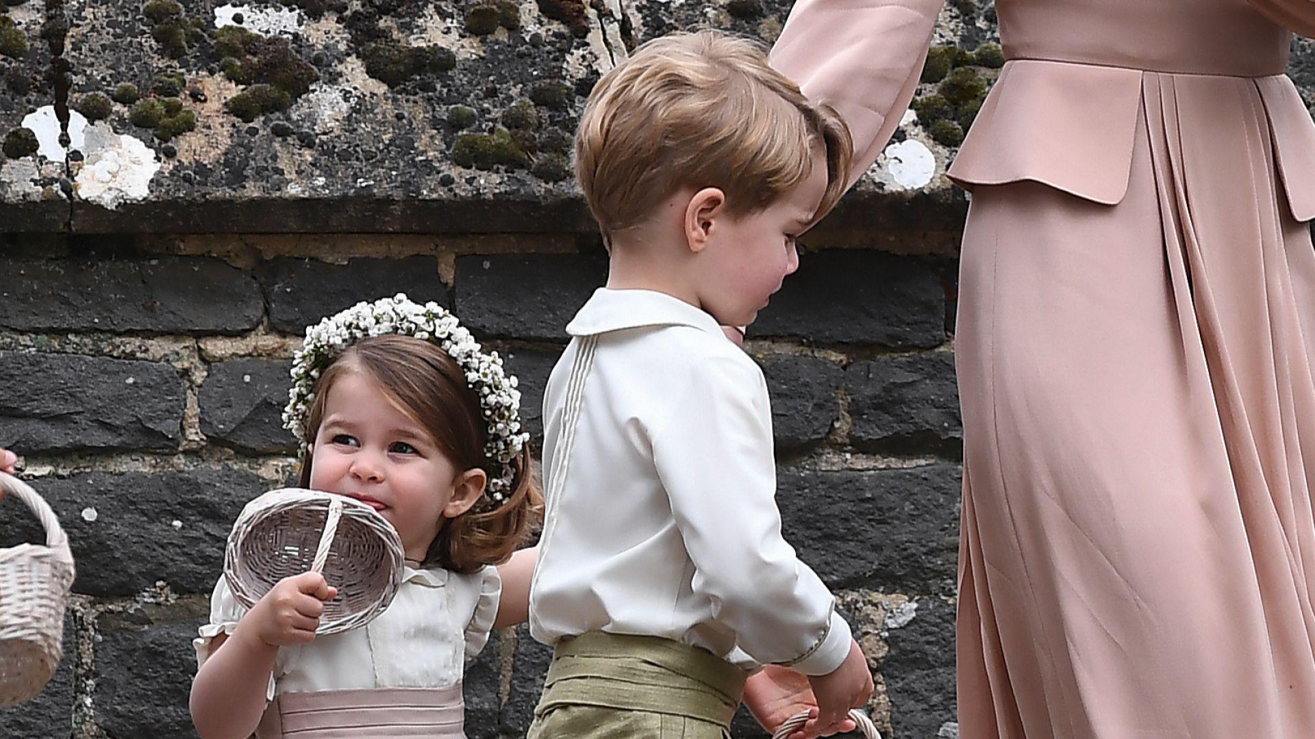 Джордж и Шарлот ще бъдат шафери на сватбата на Хари
