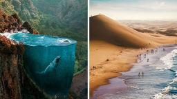 Фотографът Хюсеин Шахин рисува сюрреалистични сънища