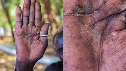 Човешките длани на Омар Реда разказват удивителни истории