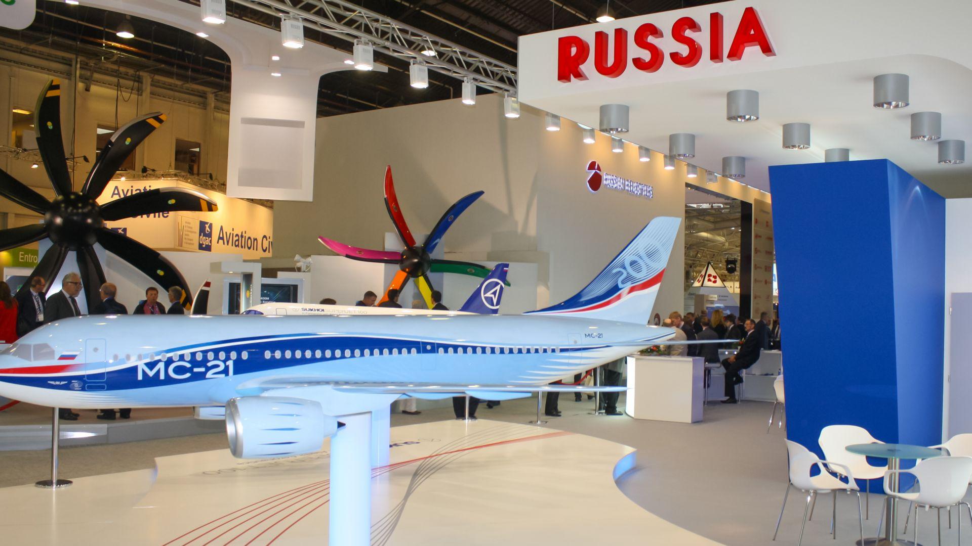 Русия ще започне да изнася новия си пътнически самолети МС-21 през 2023 г.