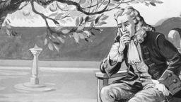 Легенда ли е историята с ябълката и Нютон?