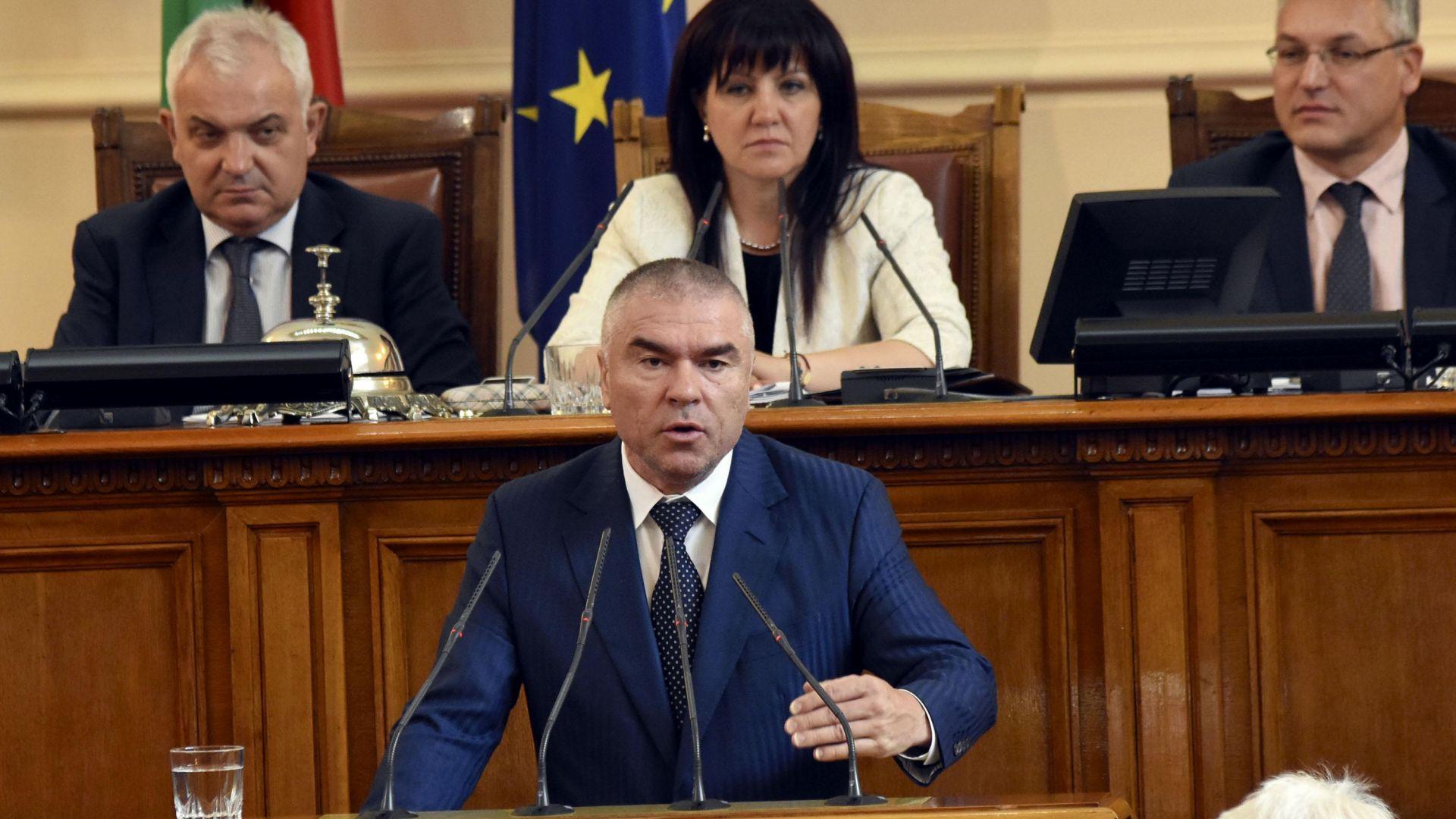 Заместник-председателят на НС и лидер на партия