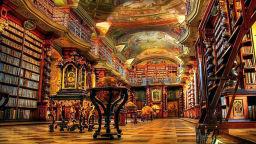 Клементиум - приказно красивата библиотека на Чехия