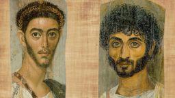 Фаюмските портрети пазят образите на съвременници на Христос