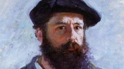 Клод Моне изгаря картините, които искат да му вземат кредиторите