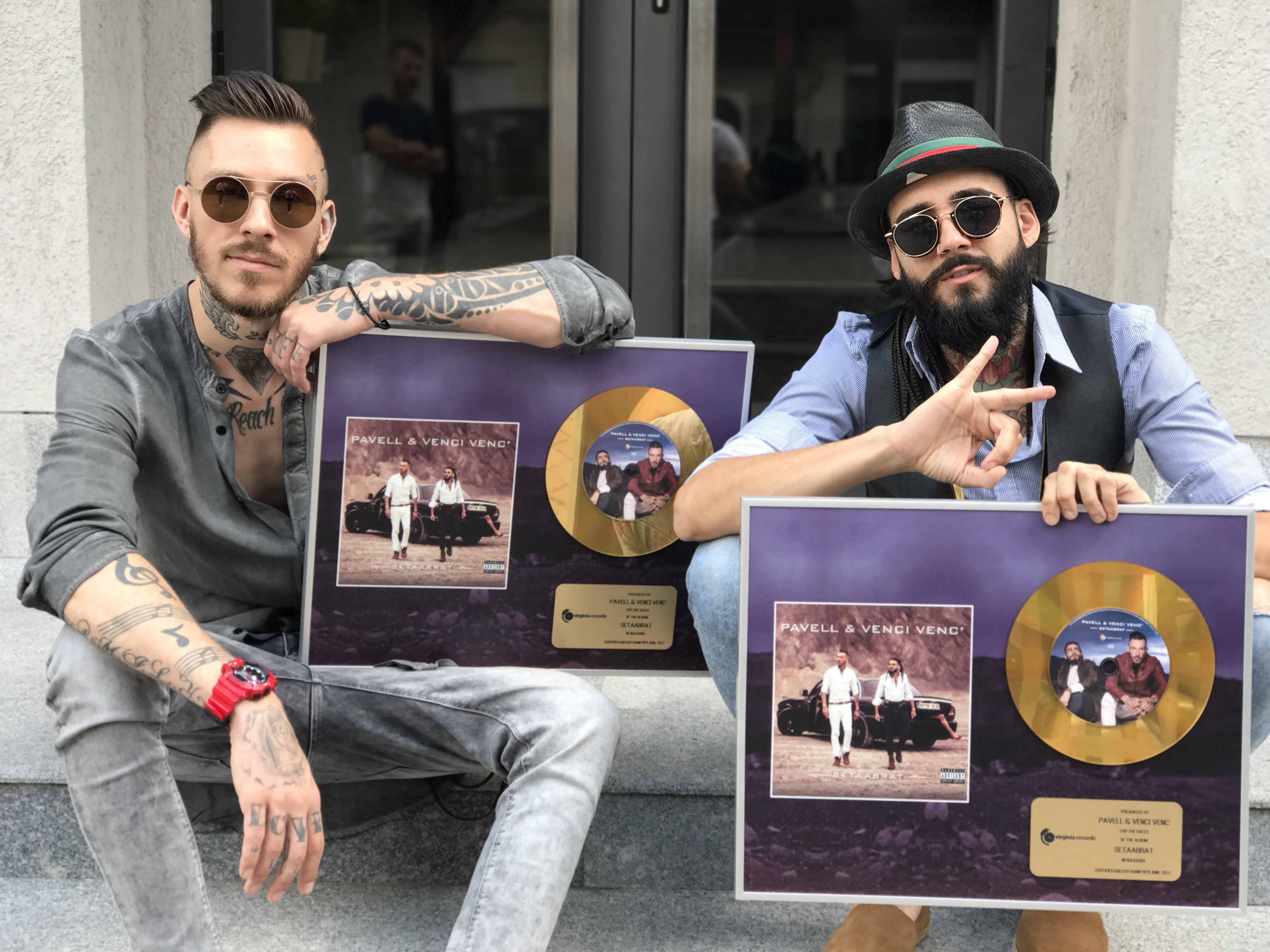 Pavell & Venci Venc' със златен албум