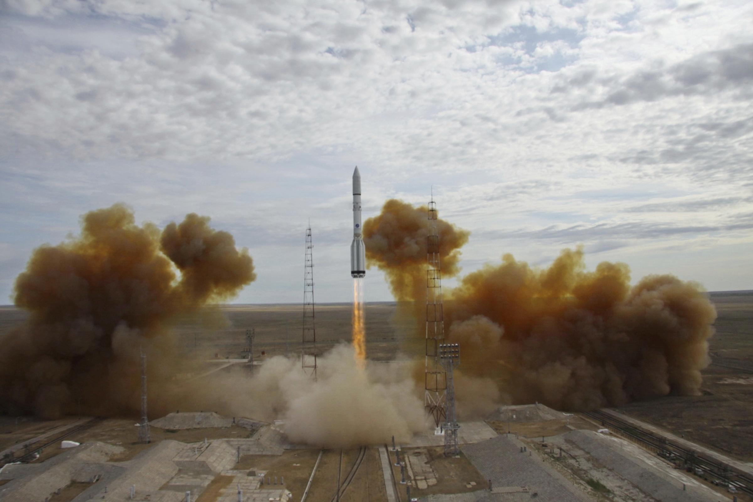 Русия с 30 изстрелвания в космоса през 2018 г.