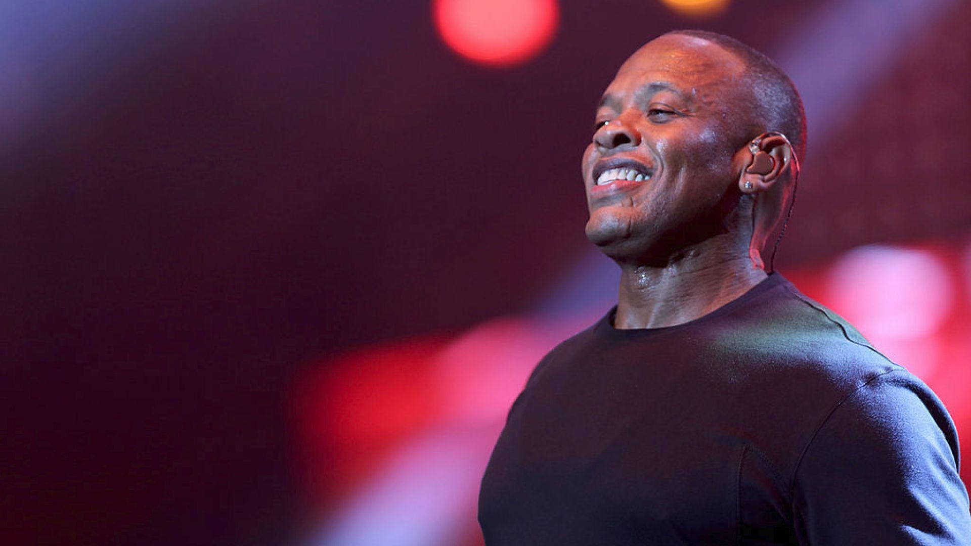 Dr. Dre е приет в болница заради аневризма в мозъка