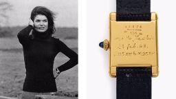 Анонимен собственик плати 379 500 долара за часовник и картина на Джаки Кенеди