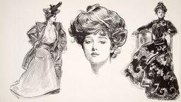 """""""Момичето на Гибсън"""" - първият моден идеал на Америка"""