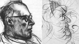 Експеримент: Художник рисува портрет, под влиянието на ЛСД