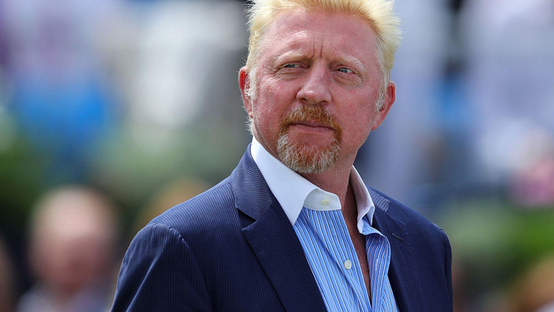 Борис Бекер (51) с гореща британска манекенка на Уимбълдън (снимки)