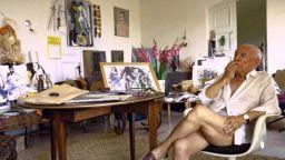 Пикасо, през обектива на фотографа Гийон Мили