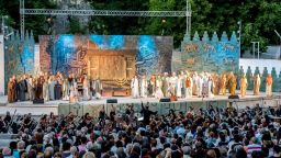 """Магията """"Набуко"""" завладя Летния театър в Плевен"""