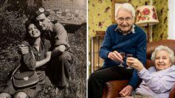 Командос и жена, която спасява от газовите камери, живеят 71 години заедно