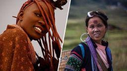 Най-екзотичните женски одежди извън цивилизацията