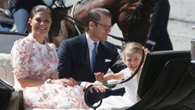 Шведската принцеса Виктория навърши 40 (снимки)