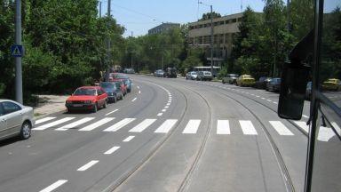 Кола отнесе пешеходка на пловдивски булевард