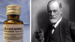 Зигмунд Фройд бил пристрастен към кокаина