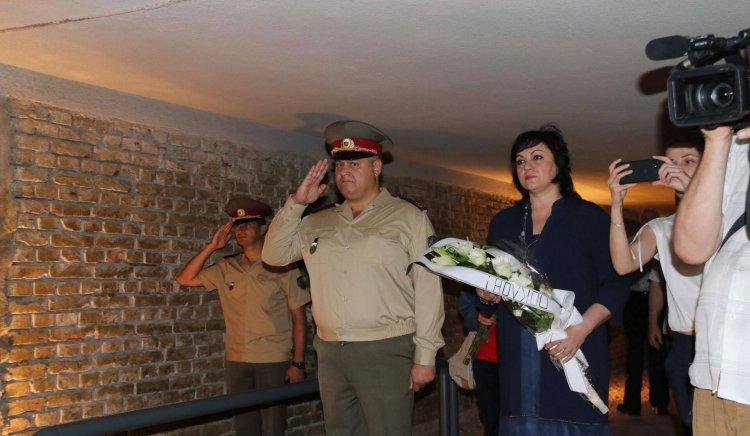 Почетоха годишнината на Вапцаров на Гарнизонното стрелбище