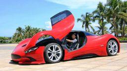 Китаец създава супер кола със собствените си ръце
