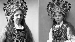 Вижте норвежки булки с приказни носии