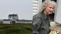 67-годишна жена 40 години живее сама на малък остров