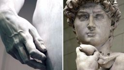 Давид на Микеланджело отблизо