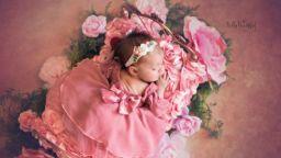 Фотосесия с бебета, като приказните принцеси на Дисни