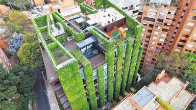 Изумителната вертикална градина на Богота