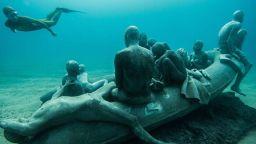 """Гмурнете се в първия подводен музей в Европа  """"Museo Atlantiko"""""""